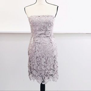 Adrianna Papell Evening Strapless Dress Size 6